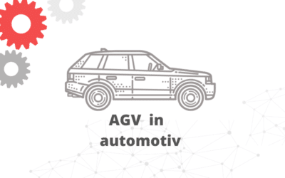 AGV robots in the automotive components industry