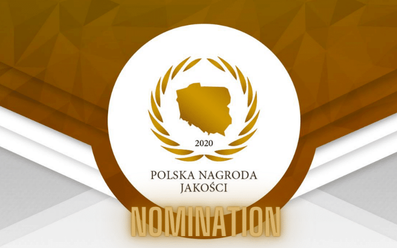 Polish Quality Award 2020 – nomination