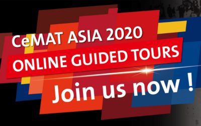 CeMAT ASIA 2020 – online guided tours