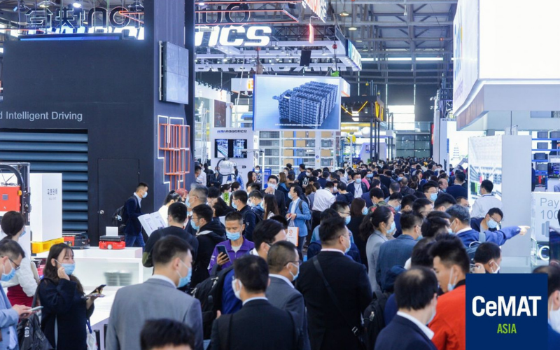 CeMAT Asia international fair